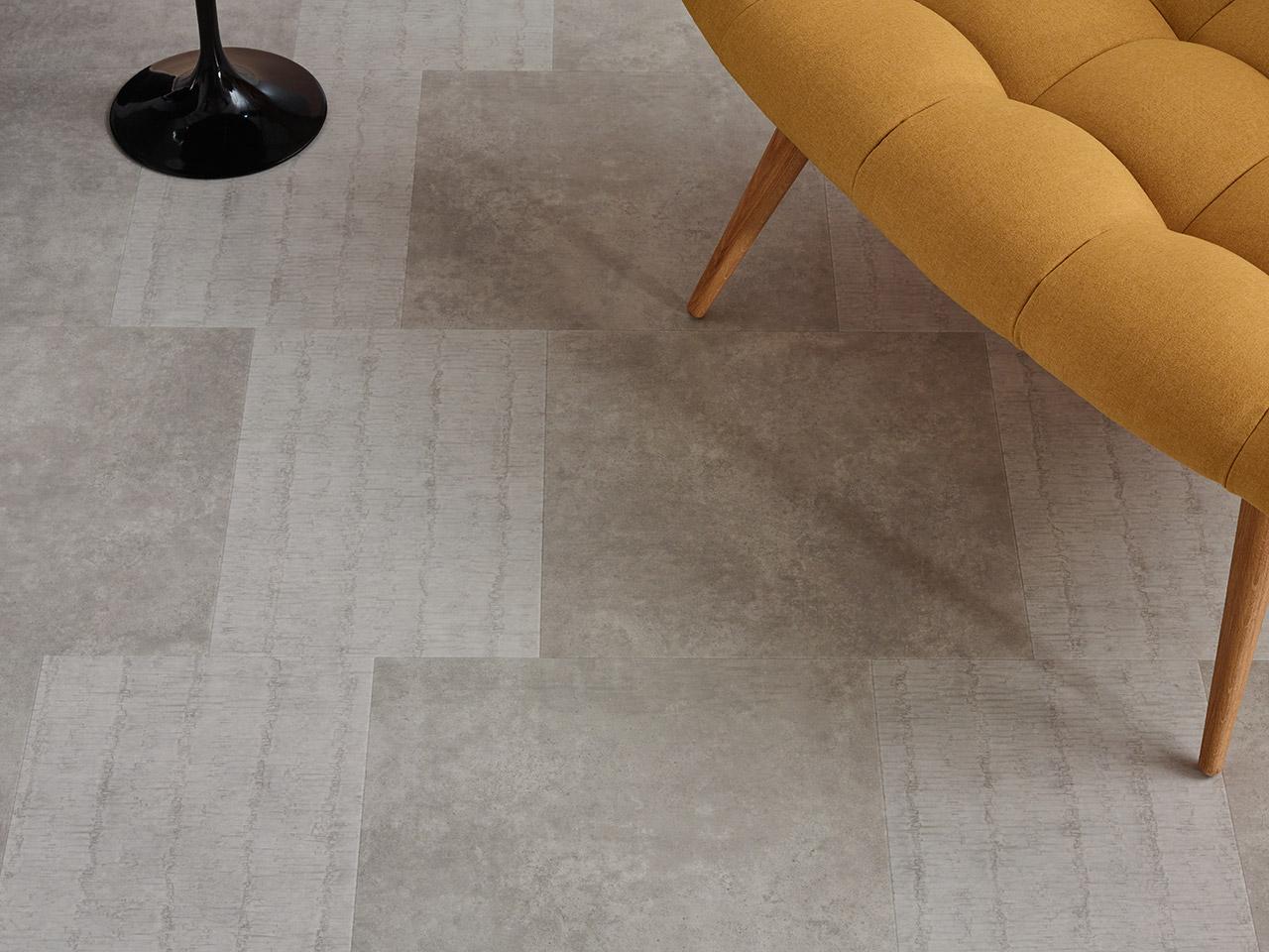 finest offset tile with sol pvc dalle. Black Bedroom Furniture Sets. Home Design Ideas
