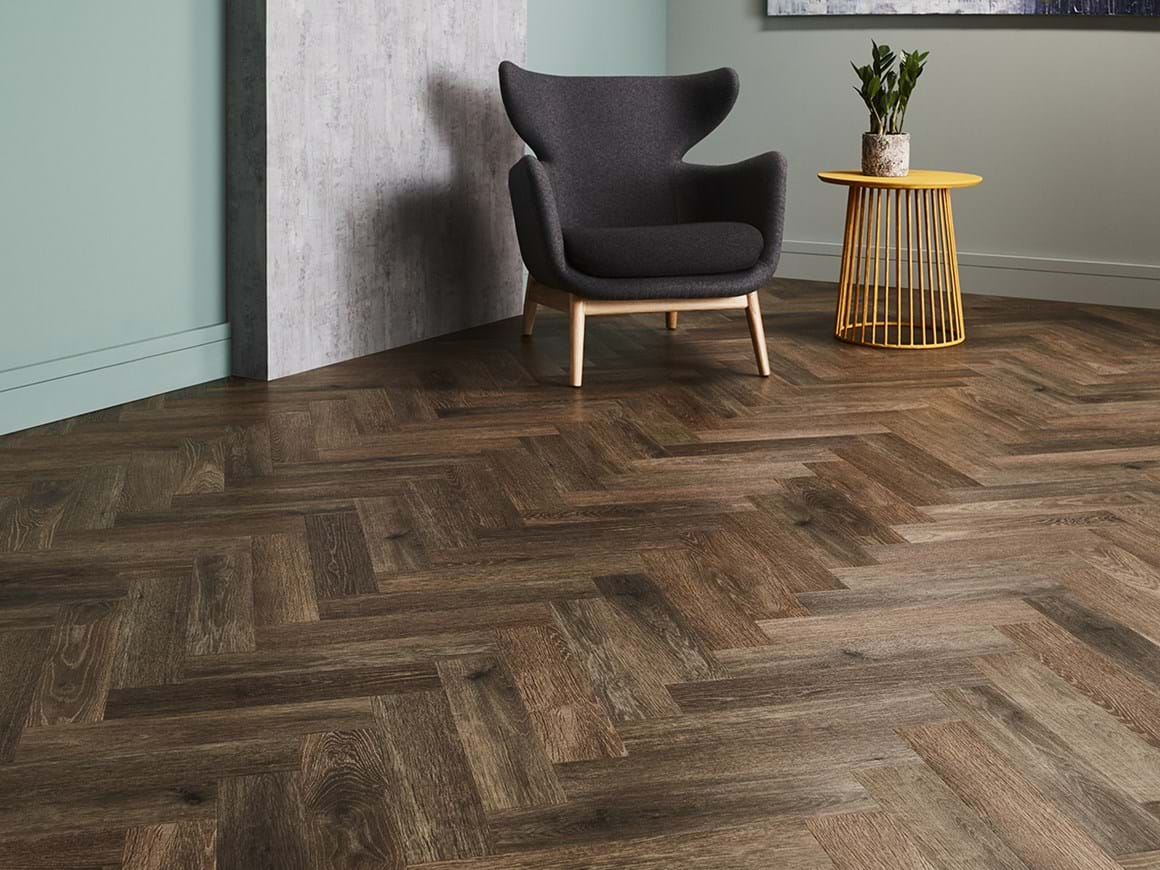 Noble Oak in Parquet Laying Pattern