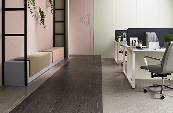 Image of Collection de LVT plombante amovible