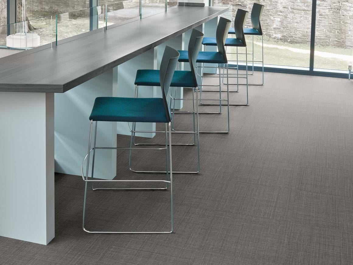 Amtico Access Satin Weave SX5A3805 in Uniform Tile Laying Pattern