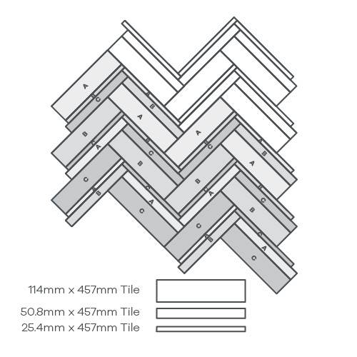 Fusion Parquet, 3 Products - EP388 wire image