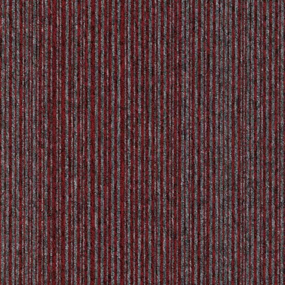 Foundry Cranberry and Dusk Stripe Swatch Image