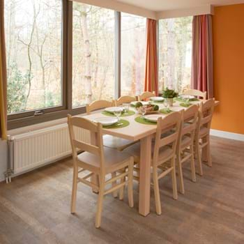 Amtico Spacia in Bleached Elm (SS5W2516) with Traditional Oak (SS5W2514)